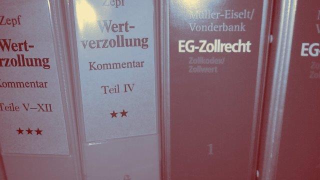 Kommentare Wertverzollung EU-Zollrecht
