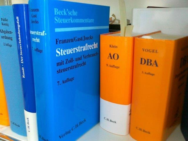 Steuerstrafrecht-Bücher