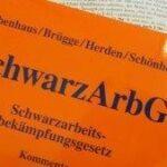 Obenhaus / Brügge / Herden / Schönhöft, Schwarzarbeitsbekämpfungsgesetz