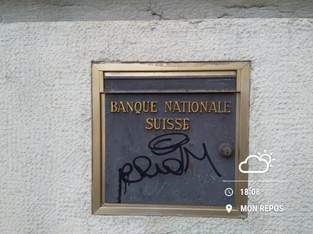 Banque Nationale Suisse - Schweizer Nationalbank SNB Lausanne