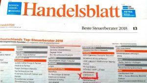 OBENHAUS Anwaltskanzlei für Steuerrecht in Hamburg ist TOP-Steuerberater 2018
