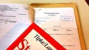 Handakte vom Fachnwalt für Steuerrecht & Steuerberater Obenhaus zu einem Fall beim Finanzgericht Hamburg
